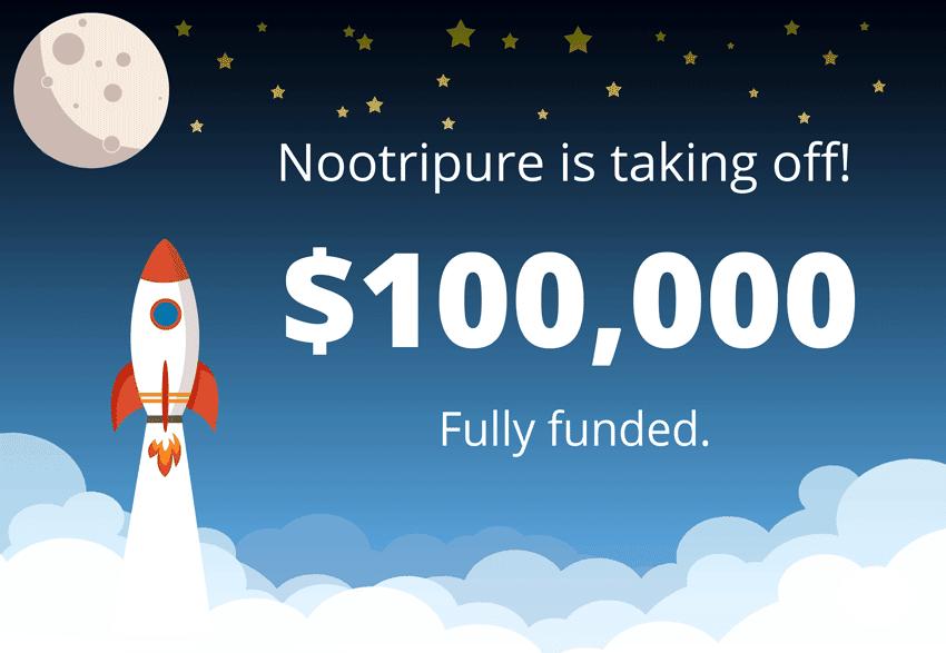 Kickstart Goal Accomplished